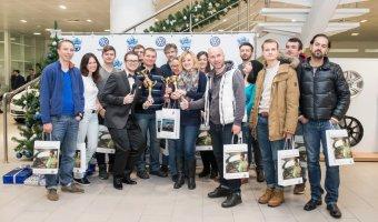 Участники Volkswagen City Quest покорили Москву!