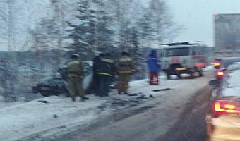 В Удмуртии в ДТП с маршруткой погиб человек