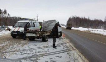 В ДТП с фурой под Вологдой погиб человек