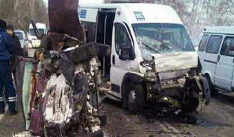 В ДТП с автобусом в Бурятии погибли два человека