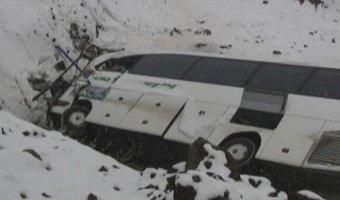 В Турции автобус сорвался в пропасть: погибли пять человек