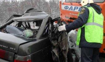 В ДТП с мусоровозом под Нижним Новгородом погибли два человека