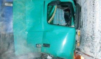 В Омутнинском районе фура насмерть сбила инспектора ГИБДД, оформлявшего протокол