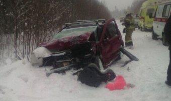 В ДТП в Лысьвенском районе погибла женщина