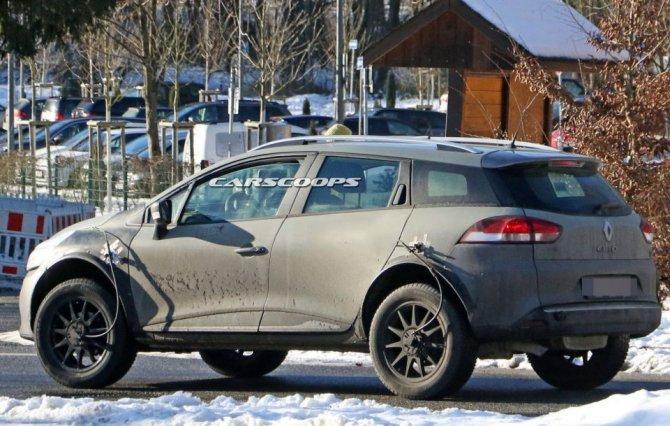 Новый Renault Captur проходит тесты в кузове универсала Clio (5)
