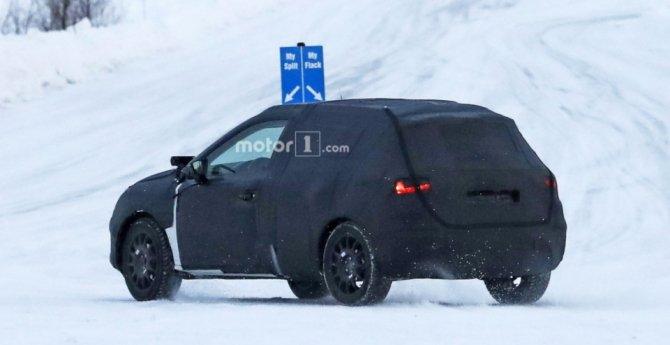 Кроссовер SEAT Arona заснят на зимних тестах (2)