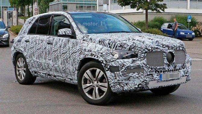 На тестах замечен Mercedes-Benz GLE (1)