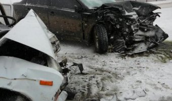 В ДТП в в Михайловском районе погибли три человека