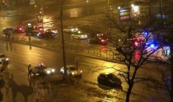 В ДТП на Ириновском проспекте в Петербурге погиб пассажир Mitsubishi