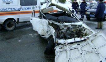 В ДТП на трассе Волгодонск - Ростов-на-Дону погибли оба водителя