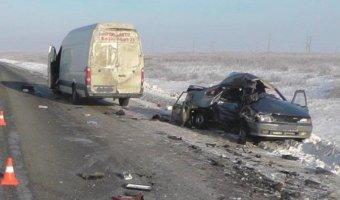 Два человека погибли в ДТП на трассе Курган – Тюмень
