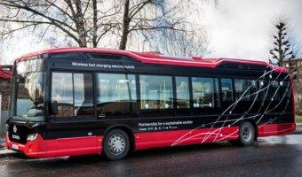 Scania может сделать беспроводные автобусы стандартом на дорогах