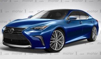 В Сети появилось изображение нового Lexus LS