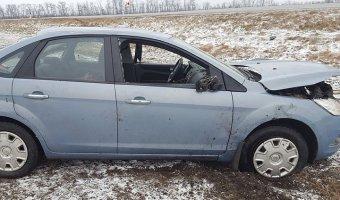 В Рославльском районе в ДТП пострадал маленький ребенок