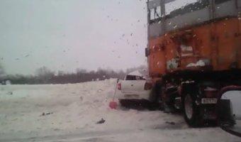 В ДТП с КамАЗом на трассе «Уфа – Шакша» погиб человек