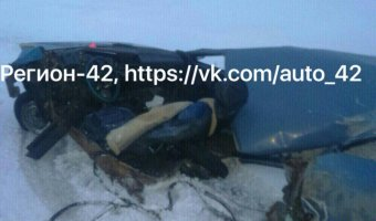 В Кузбассе в ДТП с фурой погибла женщина