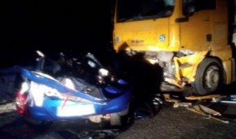 В ДТП с грузовиком под Йошкар-Олой погибли 4 человека