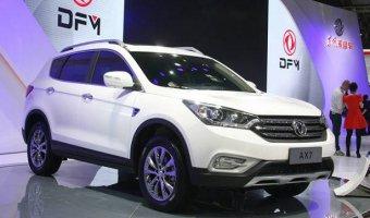 На рынок России выходит китайский кроссовер DFM AX7