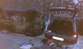Число жертв в ДТП на трассе в ХМАО достигло пяти человек