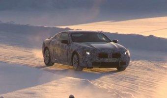 Зимние тесты нового BMW 8-Series записали на видео