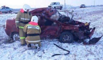 В ДТП в Выселковском районе погибли два человека