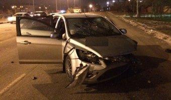 В Армавире пьяный водитель устроил ДТП