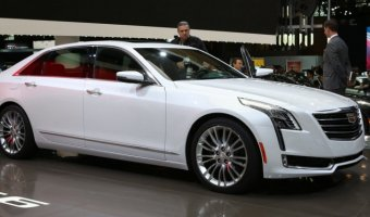 На рынке Китая начались продажи седана Cadillac CT6 Plug-In Hybrid
