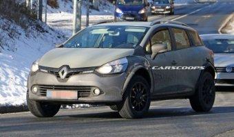 Новый Renault Captur проходит тесты в кузове универсала Clio