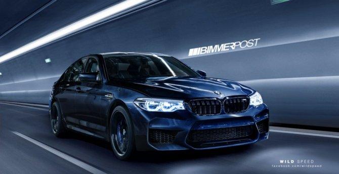 В Сети появились фото «заряженного» BMW M5 (1).jpg