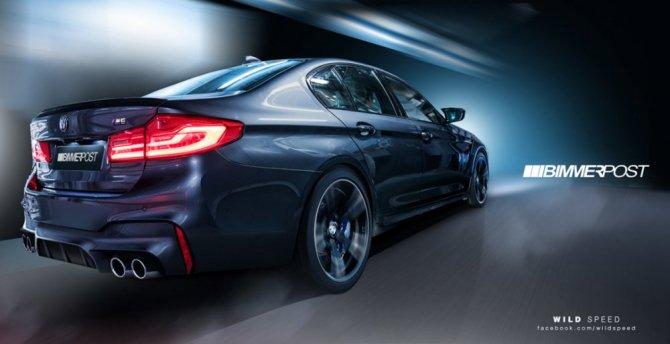 В Сети появились фото «заряженного» BMW M5 (2).jpg