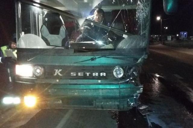 В ДТП с автобусом в Рязанской области погиб человек (1)