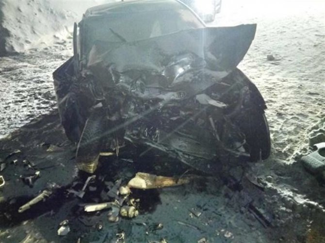 В ДТП на Красноглинском шоссе в Самаре погиб человек (1)