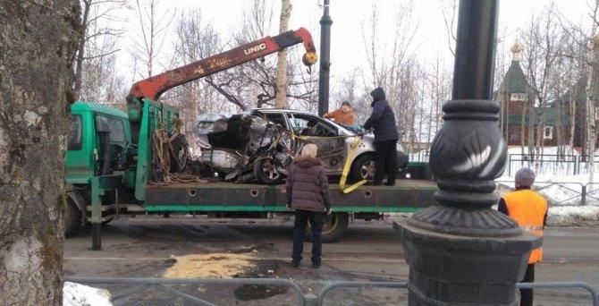 В ДТП в Поронайске погибла пассажирка такси (4).jpg