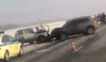 В ДТП под Оренбургом погибли два человека