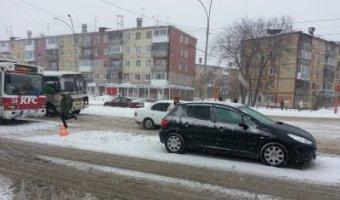 В Кемерове в ДТП с троллейбусом пострадал ребенок