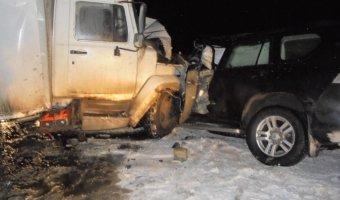 В ДТП с грузовиком под Вологдой погибли два человека
