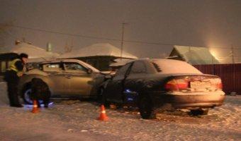 В Миассе в ДТП с полицейским пострадала девочка