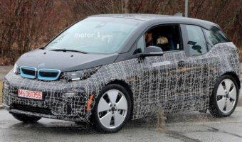 Новый электрокар BMW i3 попал в объективы фотошпионов