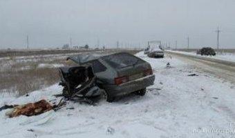 В ДТП в Ленинском районе погиб водитель ВАЗа