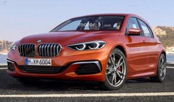 Появился рендер обновленного BMW 1-Series