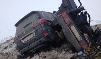 В серьезном ДТП на трассе Казань-Оренбург пострадали люди