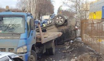 В ДТП с внедорожником в Видном пострадал человек