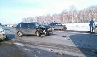 В ДТП в Челябинской области погибла женщина-водитель