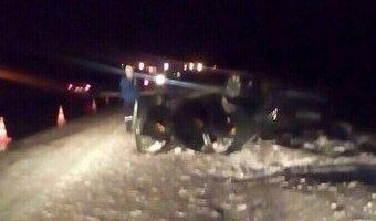 В Сургутском районе в ДТП с грузовиком погиб человек