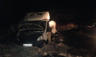 В ДТП на трассе в Башкирии погиб водитель грузовика