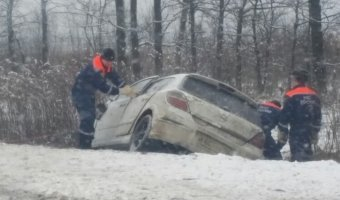 Водитель «Опеля» погиб в ДТП с грузовиком под Петербургом