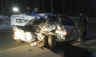 В ДТП в Поронайске погибла пассажирка такси