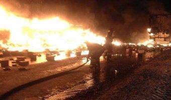 В ДТП с двумя фурами в Татарстане погибли два дальнобойщика
