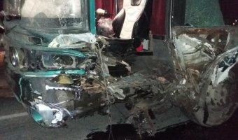 В ДТП с автобусом в Рязанской области погиб человек