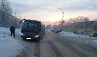 В Соликамске автобус насмерть сбил пенсионерку